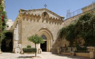 Iglesia de la Flagelación de Jesús - Jerusalén 1