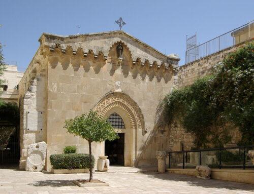 Iglesia de la Flagelación de Jesús – Jerusalén