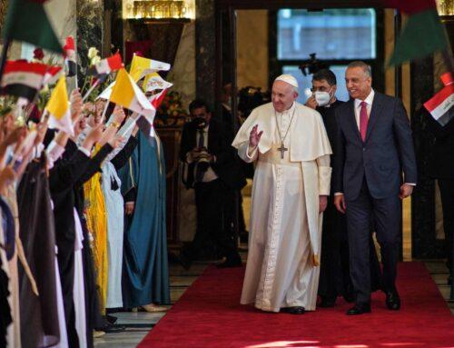 El Papa en #Irak dice que la convivencia es posible en Oriente