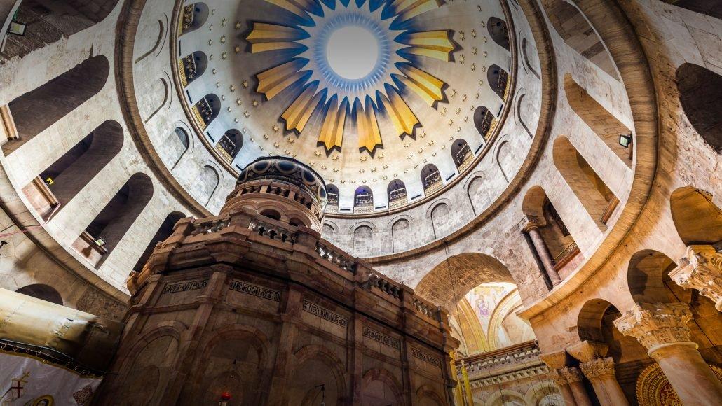 Iglesia del Santo Sepulcro - Características del lugar de la Resurrección 1