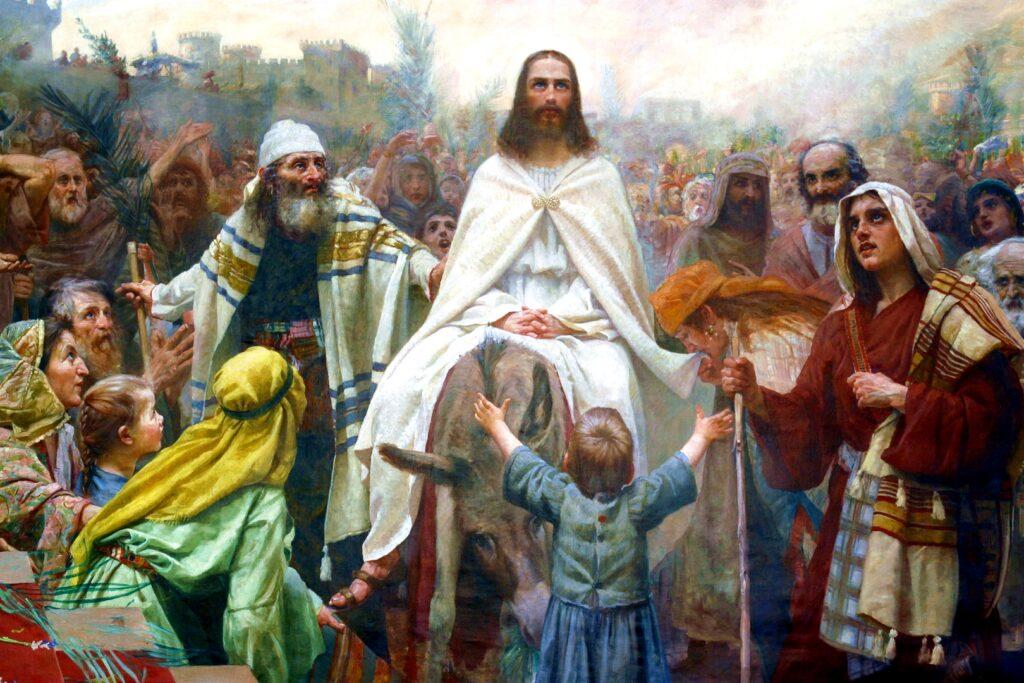 Entrada triunfal de Jesús en Jerusalén - Domingo de Ramos 1
