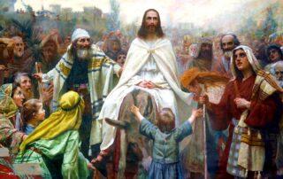 Entrada triunfal de Jesús en Jerusalén - Domingo de Ramos 3