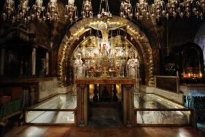 Iglesia del Santo Sepulcro - Características del lugar de la Resurrección 4