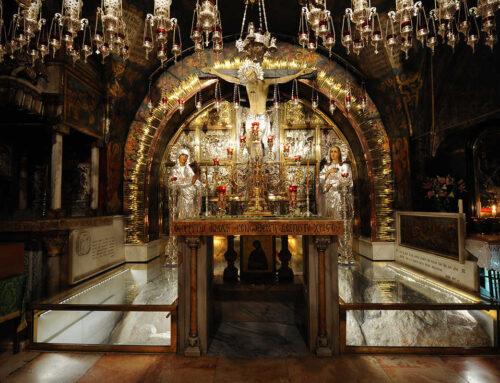 Un recorrido completo, en vídeo, por la basílica del Santo Sepulcro en Jerusalén