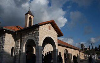 Santuario del Arcángel san Gabriel en la aldea de Al-Mujaydel - Junto a Nazaret 1
