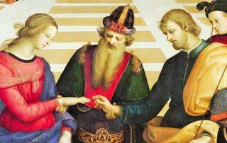 Maria , una virgen desposada con José 3