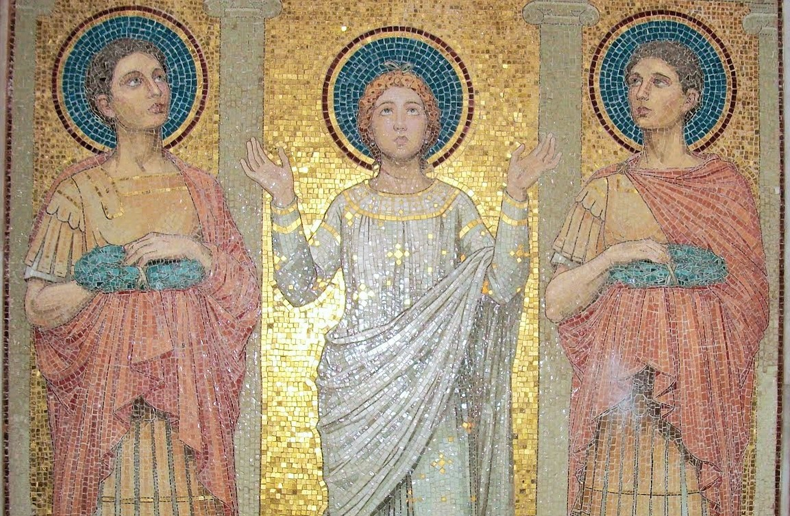 San Valeriano y san Tiburcio