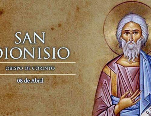 San Dionisio, obispo de Corinto († 180) – 8 de abril