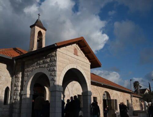 Santuario del Arcángel san Gabriel en la aldea de Al-Mujaydel – Junto a Nazaret