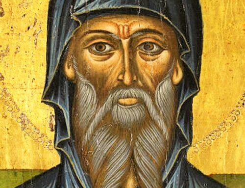 San Afraates, anacoreta y escritor de la Iglesia oriental Siria, 390 – 7 de abril
