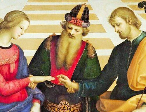 Maria , una virgen desposada con José