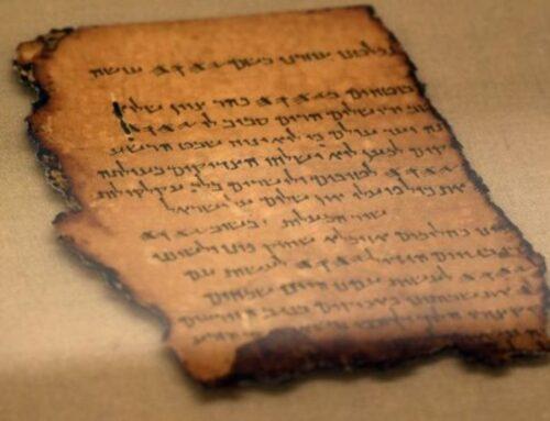 ¿Quién escribió los pergaminos del Mar Muerto?  –  Qumran