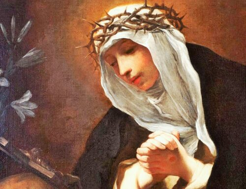 Santa Catalina de Siena, patrona de Europa  –  29 de abril