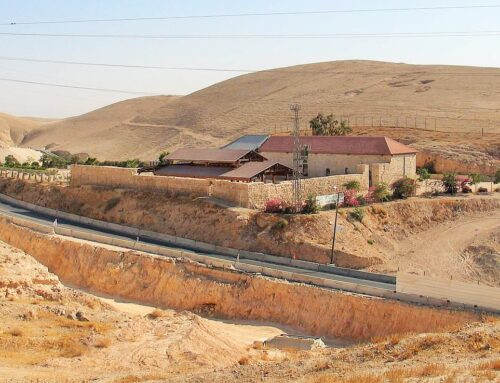 La posada del Buen Samaritano se convierte en museo – Desierto de Judea