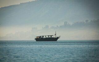 El Lago de Genesaret - Mar de Galilea 1