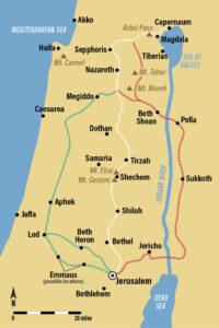 peregrinación de Galilea a Jerusalén en el siglo I