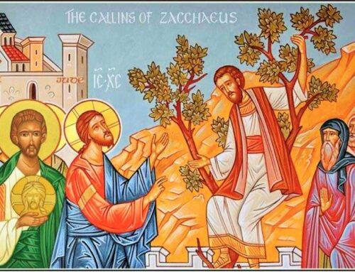 San Zaqueo, publicano y discípulo de Jesús – 23 de agosto