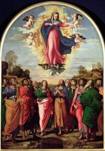 Asunción de la Virgen (Assumption of the Virgin) Jacopo Palma