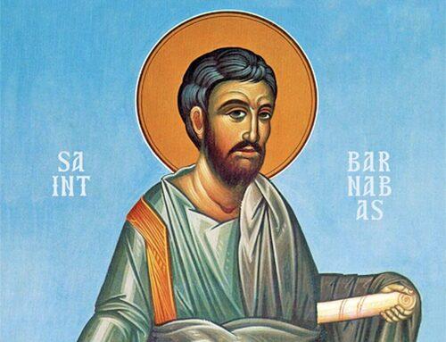 San Bernabé – Fue un admirado lider en la Iglesia primitiva