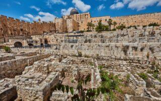 Descubiertas las antiguas murallas de Jerusalén que destruyeron los babilonios el día de Tisha B'Av de 586 a.C. 2